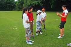 Girl power The Delhi Golf Club tries to break the gender barrier by training the daughters of caddies and staff #gender