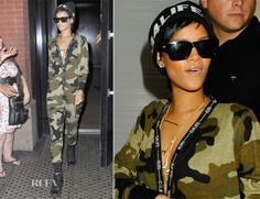 Rhianna In Rihanna for River Island – Out In New York City