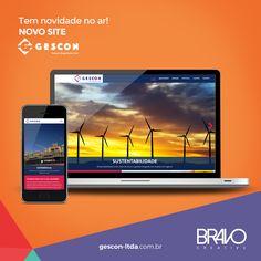 Mais uma empresa que ganha presença digital! A GESCON, com sedes em São Paulo e no Rio, agora recebe bem seus clientes em mais um endereço: www.gescon-ltda.com.br      #gerenciadordeconteudo #layoutexclusivo #designresponsivo #gescon #novosite #site #html5 #html #css3 #javascript #wordpress #design #designporn #responsivo #mobile #bravo
