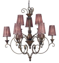 Lincolnshire 9 Light Chandelier | Kenroy Home | Home Gallery Stores