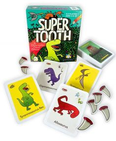 A new dinosaur card game from Gamewright Games!