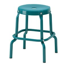 RÅSKOG Stool IKEA Easy to move thanks to the hole in the seat. Plastic feet protect the furniture when in contact with a damp surface.