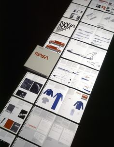 NASA brand guidelines (1976) — Danne & Blackburn