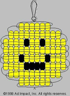 Perlentiere Smiley-Pony-Perlenmuster: Choosing The Right Chain Link Fence For Your Home Chain link f Pony Bead Projects, Pony Bead Crafts, Beaded Crafts, Pony Bead Patterns, Beaded Jewelry Patterns, Beading Patterns, Mosaic Patterns, Beading Ideas, Bracelet Patterns