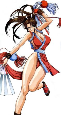 Mai Shiranui, The King of Fighters.