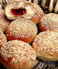 Пирожки с вареньем и кунжутом | Рецепты Вкусно и Полезно