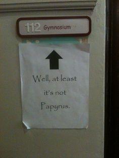 A little font humor...  :) thanks K8