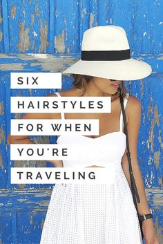 Here are seven styles that will help keep your hair on point for any occasion, from taking a hike in the woods, splashing around in the ocean.