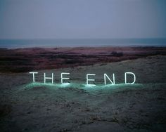 the end, end, and light resmi