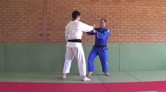 #Judo Double Leg Takedown (morote gari) with Matt D'Aquino. there so many rules now that stop you from doing this.