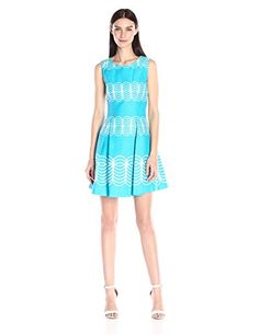 Taylor Dresses Women's Circle Print Fit and Flare, Aqua C... https://www.amazon.com/dp/B019XRWPPS/ref=cm_sw_r_pi_dp_U_x_ul4iAbPZD5646