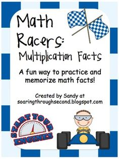Need a fun and motivating way to help your students learn their math facts!