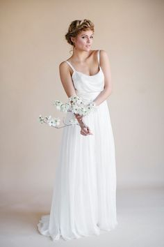 Yvette Darling by Heidi Elnora via @dressforwedding