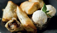 ... Spring Rolls!! on Pinterest   Spring rolls, Bananas and Desserts