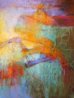 Ephemera   Debora Stewart: pastels on sanded pastel paper - http://www.ugallery.com/pastel-artwork-ephemera