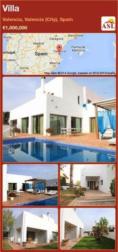 Villa in Valencia, Valencia (City), Spain ►€1,000,000 #PropertyForSaleInSpain