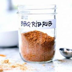 The best seasoning to put on ribs for fall-off-the-bone bites is a homemade dry rub made from spices and herbs you probably have sitting in your pantry right now. Bbq Rib Rub, Rub For Pork Ribs, Rub Recipes, Curry Recipes, Grilling Recipes, Bbq Rub Recipe, My Favorite Food, Favorite Recipes, Smoked Beef Brisket