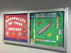 Monopoly bulletin board for career development