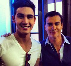 Alejandro Speitzer y David Zepeda en la presentación a medios de la telenovela Mentir Para Vivir   #AlejandroSpeitzer #AlexSpeitzer #DavidZepeda #actor #Televisa #MentirParaVivir #Mexico