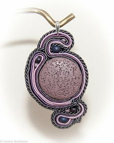 Soutache necklace. Soutache Necklace, Pendant Necklace, Jewelry, Fashion, Moda, Jewlery, Jewerly, Fashion Styles, Schmuck