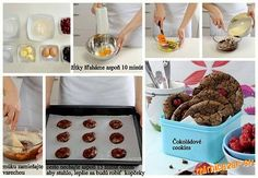 Skvelé čokoládové cookies podľa A.Polákovej