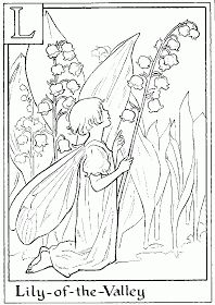 Letter L For Lily Of The Valley Flower Fairy Coloring Page - Alphabet Coloring Pages, Alphabet Flower Fairies On do Coloring Pages Fairy Coloring Pages, Alphabet Coloring Pages, Cartoon Coloring Pages, Printable Coloring Pages, Adult Coloring Pages, Coloring Books, Coloring Sheets, Free Coloring, Dibujos Cute