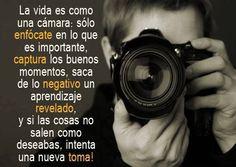 La vida como una cámara
