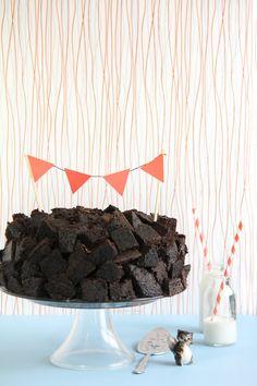Chocolate Quake Cake #cake #sweet #cook