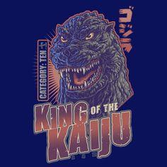 King of the Kaiju - Redux - NeatoShop