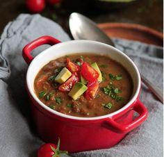 Chipotle Lentil Soup | #LookFeelLive