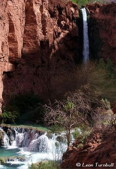 Havasu Creek Waterfall, Arizona ...want.
