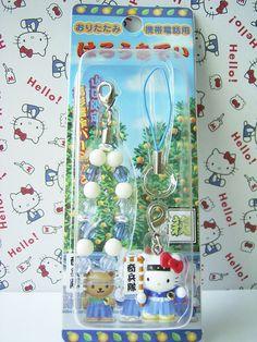 GOTOCHI HELLO KITTY Mobile Cell Phone Strap Shinsaku Takasugi YAMAGUCHI JAPAN