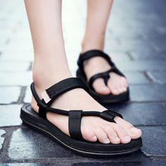14f341db1 Price: GBP 9.80 - Summer Men Casual Fashion Sandals Clip Toe Shoes Flats  Beach Flip
