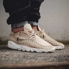 Fresh off a couple of multi-color drops, the Nike Air Footscape Woven NM is  releasing in a summery colorway. Leather built, the silhouette takes on the  lin 80b169d2ee4b