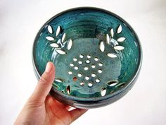 Hey, I found this really awesome Etsy listing at https://www.etsy.com/listing/68078791/pottery-berry-bowl-modern-home-decor