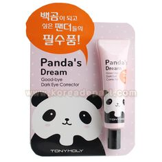 TONY MOLY Panda`s Dream Goodbye Dark Eye Corrector Overviews - Korean Cosmetics – Koreadepart