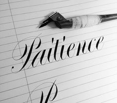 Neil Tasker Calligraphy. 15 Must Follow Calligraphers on Dribbble #Calligraphy #Typography