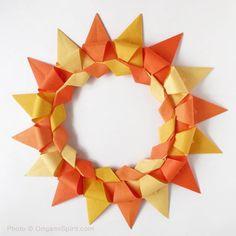 Cómo se hace una bella corona modular en origami post image