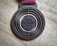 Running goals inspired by Run Mummy Run Virtual Runner UK Spin into Spring 5k race medal