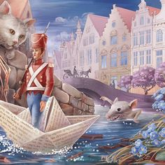 Incredible Fairy Tale Illustrations by Irina Vinnik.|FunPalStudio| Art, Artist, Artwork, Illustrations, Entertainment, beautiful, creativity, paintings, drawings, vibrant color,nature, fairy tales, graphic designs.