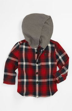 Pure Stuff 'Hunter' Woven Shirt (Infant) available at #Nordstrom