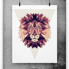 Lion Poster Geometric Art, Scandinavian Design, Minimalist Abstract Print, Simple art, Minimal print, Red nursery decor, Geometric wall art This print is the perfect addition for the modern home or office and will add a touch of style to any space. PRINT DETAILS - Made to order, printed on High Quality archival 260gsm semi-gloss paper using Archival Inks - Frames, mats and props are not included or available - Long lasting guaranteed! Other information • Frame is not included. • All orde...