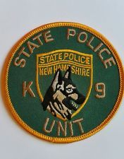 New Hampshire K-9 State Police patch