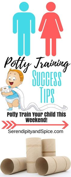 Potty Training Tips for Success. These top 5 potty training tips will start you off on the road to potty training success! You really can potty train in a weekend! ~ http://serendipityandspice.com