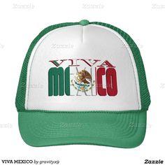 VIVA MEXICO TRUCKER HAT by #gravityx9 #mexico #zazzle -