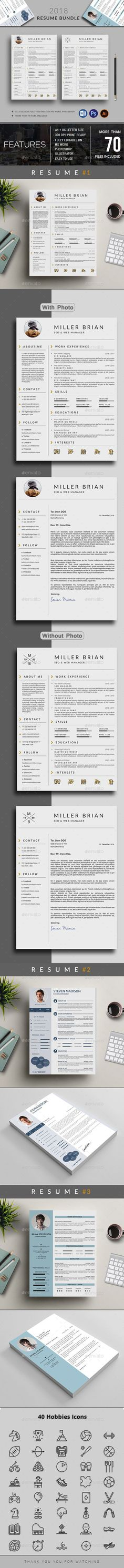 Pin by FDesign Nerd on CV Resume Template Guaranteed to Get You