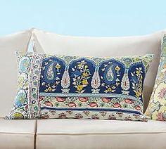 Outdoor Patio Pillows & All Weather Pillows | Pottery Barn