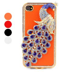 Crystal Peacock iPhone case!
