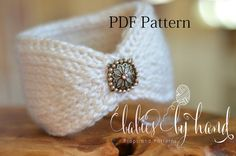 Christmas Gift to Make ...  Instant Download. Tunisian Crochet Pattern Only. Not completed item.    Pattern contains instructions for sizes 13 to 21 length and 2.5 or 3.5 wide