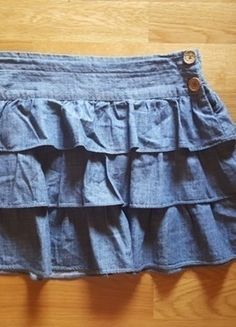 Kup mój przedmiot na #vintedpl http://www.vinted.pl/odziez-dziecieca/spodniczki/14452826-dzinsowa-spodniczka-zara